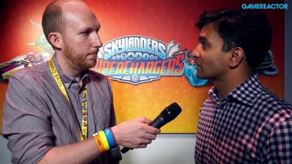 Skylanders Superchargers - Guha Bala Interview