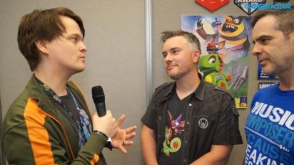 Yooka-Laylee - Steve Mayles & Grant Kirkhope-intervju