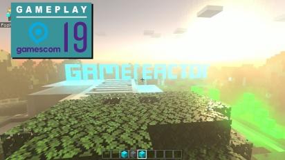 GRTV på Gamescom 19: Vi spelar Minecraft hos Nvidia