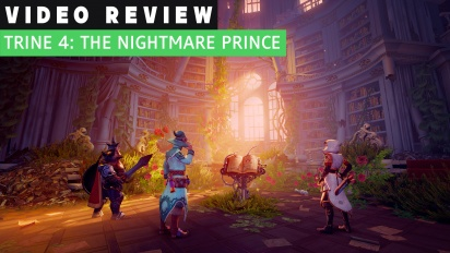 GRTV videorecenserar Trine 4: The Nightmare Prince