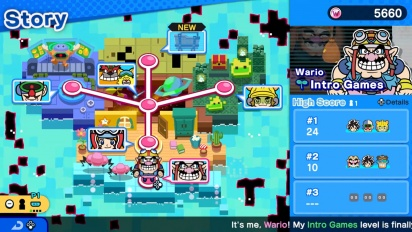 WarioWare: Get It Together! - Nintendo Treehouse: Live E3 2021