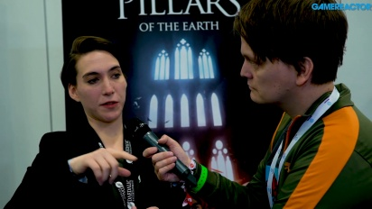 The Pillars of the Earth - Vi pratar med Valentina Tamer