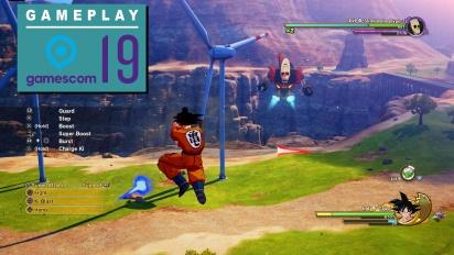GRTV på Gamescom 19: Vi spelar Dragon Ball Z: Kakarot
