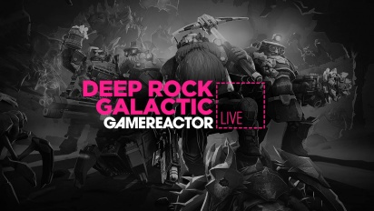 GRTV spelar Deep Rock Galactic