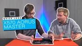 X570 Aorus Master - Quick Look