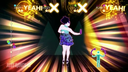 Just Dance 4 - The Girly Team - So Glamorous DLC Gameplay Trailer