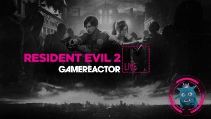 GRTV njuter av skräcken i Resident Evil 2