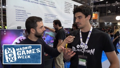 GRTV intervjuar utvecklarna bakom Blackstorm