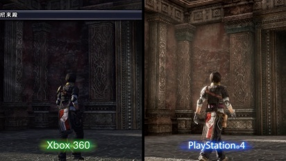 The Last Remnant Remastered - Xbox 360/PlayStation 4 Graphical Comparison