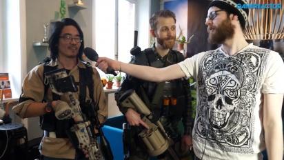 GRTV pratar med cosplay-fans om The Division 2