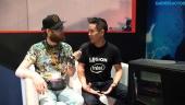 Vi pratar gamingburkar med Lenovos Teddy Lee