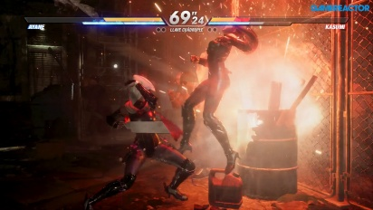 Dead or Alive 6 - Ayane vs. Kasumi Gameplay