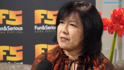 GRTV intervjuar Yoko Shimomura