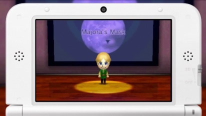 Tomodachi Life - Majora's Mask 3DS Song Trailer