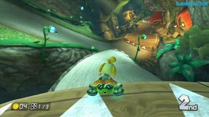Mario Kart 8 - DLC Pack 2 Gameplay: Crossing Cup