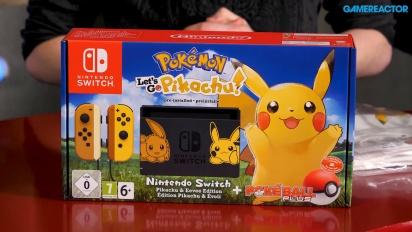 GRTV packar upp Pokémon: Let's Go Pikachu!/Let's Go Eevee-priset