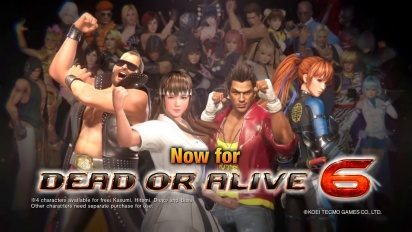 Dead or Alive 6: Core Fighters - Launch Trailer