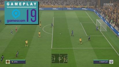 GRTV på Gamescom 19: Vi spelar FIFA 20