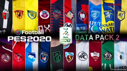 eFootball PES 2020 - Serie B Announcement Trailer