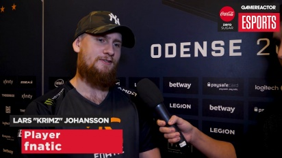 ESL Pro League-finalen / Vi intervjuar Krimz