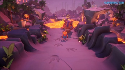Crash Bandicoot 4: It's About Time - Vi spelar Snow Way Out och Dino Dash