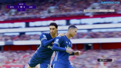 eFootball PES 2021 - Arsenal vs Juventus myClub Online Gameplay