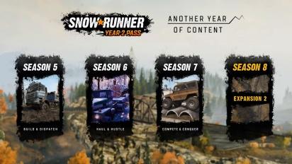 Snowrunner - Year 2 Pass Trailer