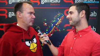 Angry Birds - Peter Vesterbacka Gamelab-intervju