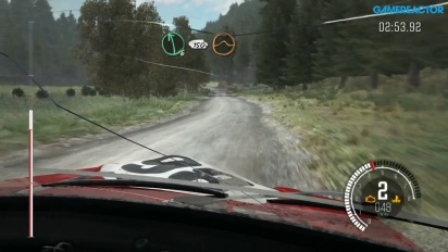 Dirt Rally - Dyffryn Afon Event i Powys, Wales med 1960 års Mini Cooper Xbox One Gameplay