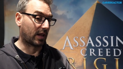 Assassin's Creed Origins - Jean Guesdon intervjuad
