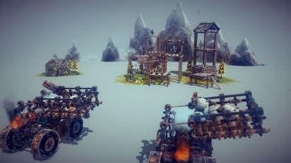 Besiege - Multiverse Multiplayer & Level Editor Trailer