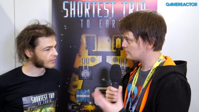 GRTV intervjuar skaparna av Shortest Trip to Earth