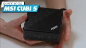 MSI Cubi 5 - Quick Look