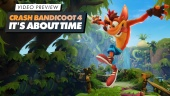 GRTV provspelar Crash Bandicoot 4: It's About Time