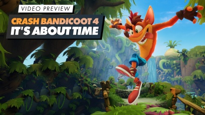 GRTV provspelar Crash Bandicoot 4: It's About Time