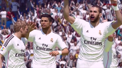 Pro Evolution Soccer 2015 - Demo Release Trailer