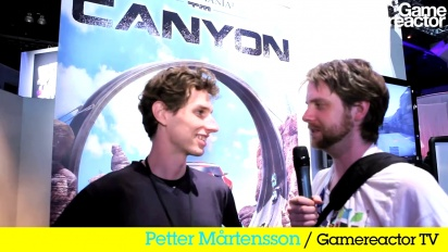 E3 11: Trackmania 2: Canyon-intervju