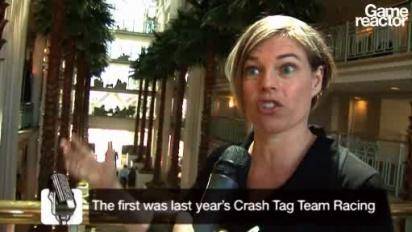 E3 Crash of the Titans interview