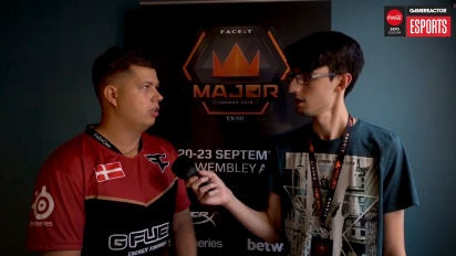 Faceit Major - Karrigan Interview