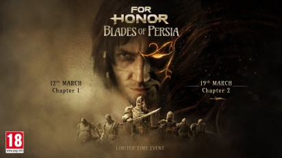 For Honor - Blades of Persia Event Trailer