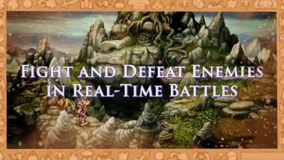 Legend of Mana - Gameplay Launch Trailer