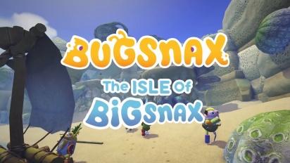 Bugsnax - The Isle of Bigsnax Update Trailer