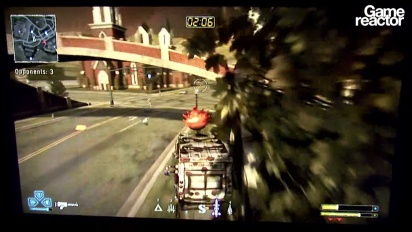 E3 11: Twisted Metal-gameplay