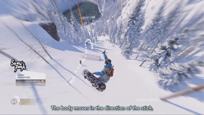Steep - Made in the Alps Dev Diary #2: Tricks