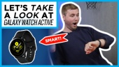 GRTV packar upp Galaxy Watch Active