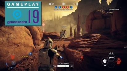 GRTV på Gamescom 19: Vi spelar Star Wars: Battlefront II (Geonosis)