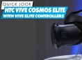 HTC Vive Cosmos Elite with Vive Elite Controllers - Quick Look
