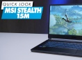 MSI Stealth 15M - Quick Look