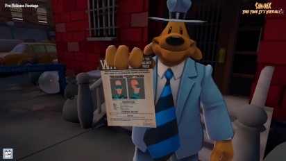 Sam & Max: This Time It's Virtual! - Gameplay Footage