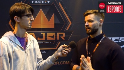 Faceit Major - ddk Interview